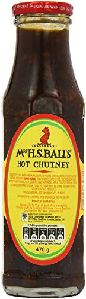 Mrs Balls Hot Chutney 470 g