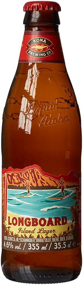 Kona Longboard Lager Beer 335 ml