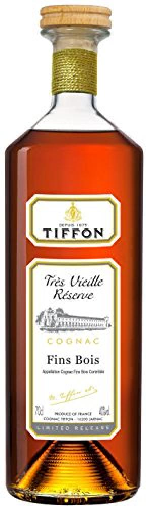 Tiffon Fin Bois Cognac with Oak Box 70cl