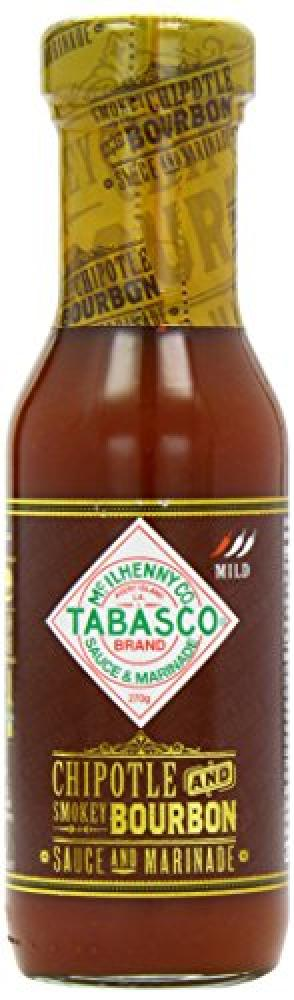 Tabasco Chipotle And Smokey Bourbon Sauce And Marinade 270g