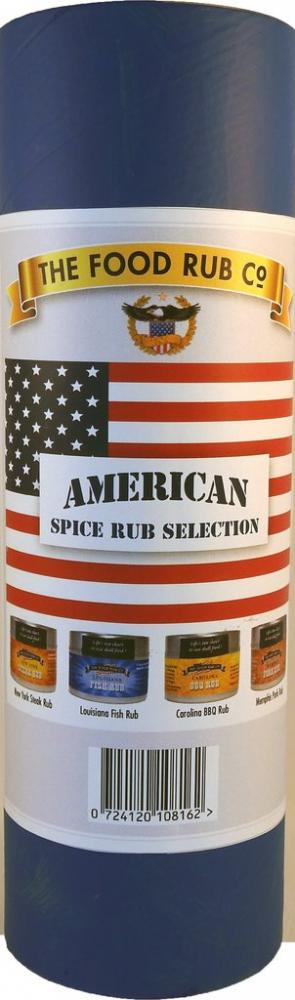The Food Rub Co American Spice Rub Collection 50g x 4