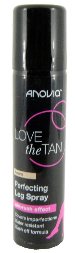 FLASH DEAL  Anovia Love The Tan Perfecting Leg Spray Natural 75ml