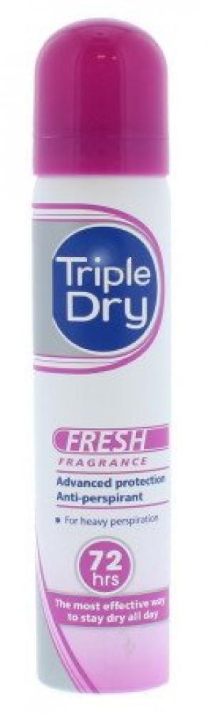 Triple Dry Anti Perspirant Spray 75ml