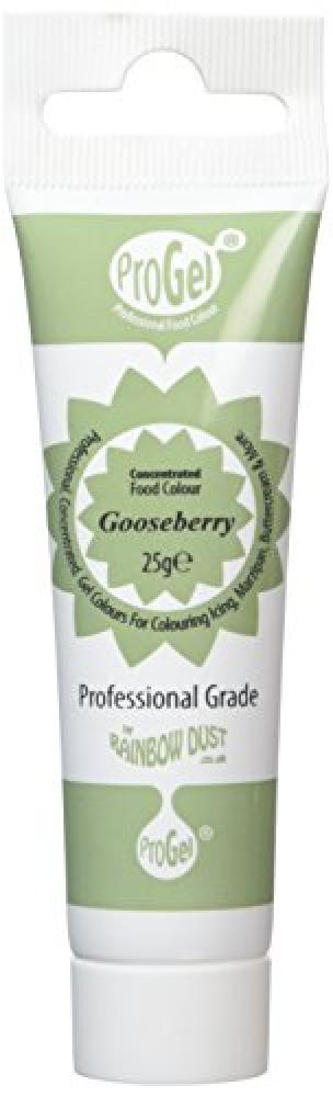 Rainbow Dust ProGel Gooseberry Concentrated Food Colour 25 g