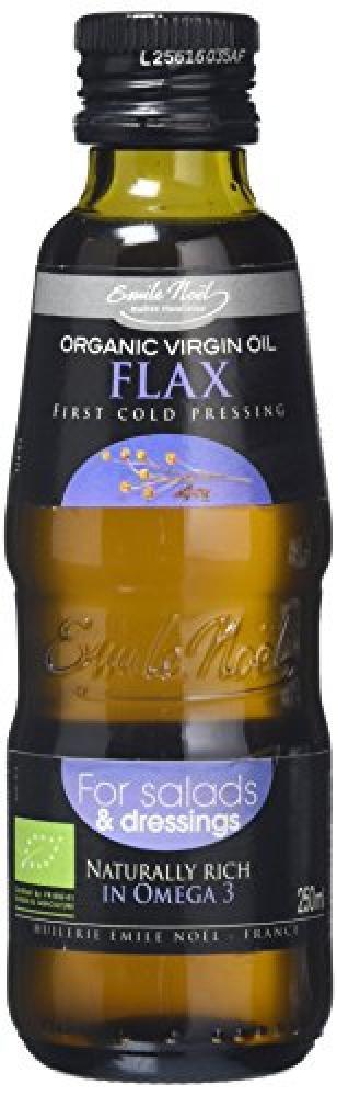 Emile Noel Organic Virgin Oil Flax First Cold Pressing 250ml