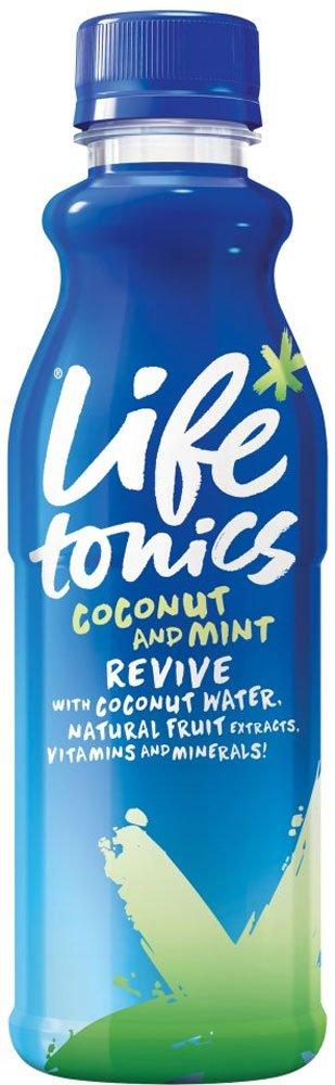 Life Tonics Coconut Water with Coconut and Mint 500ml