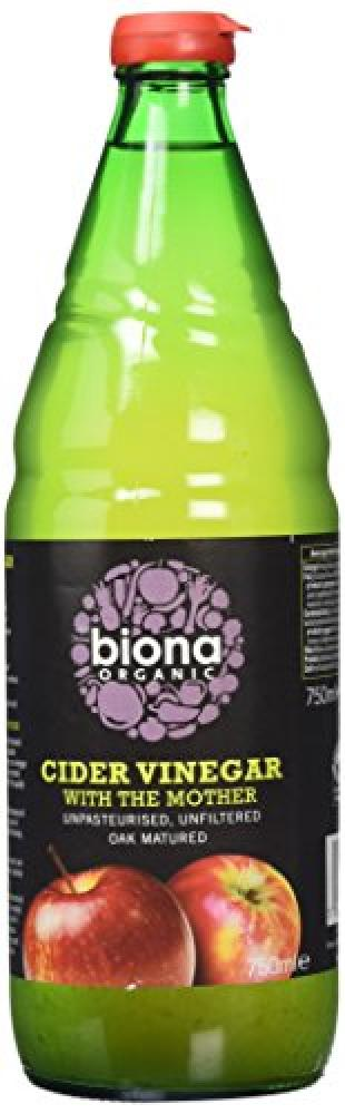 Biona Organic Cider Vinegar Unfiltered with Mother 750 ml