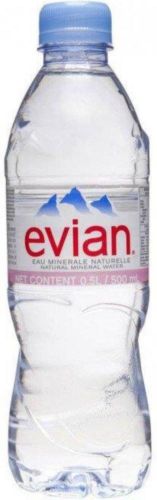 Evian Natural Mineral Water 500ml