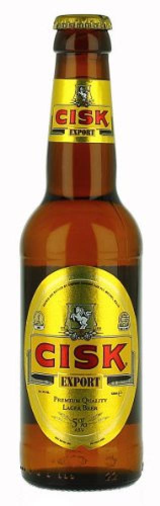 Maltas Finest Cisk Export Premium Lager Beer 330 ml