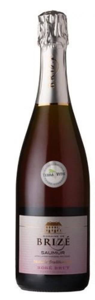 Domaine de Brize Saumur Brut Rose Non Vintage 75cl