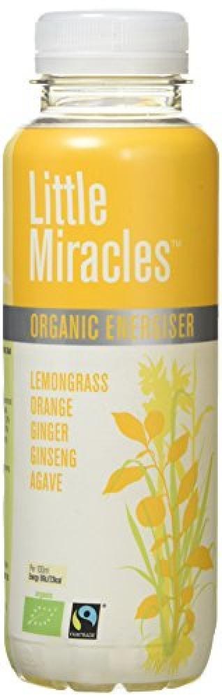 Little Miracles Organic Energy Lemongrass Tea with Orange and Ginger 330ml