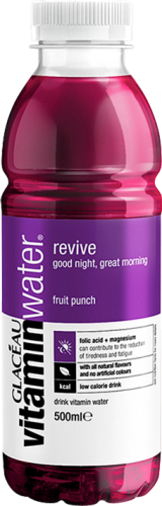 Glaceau Vitamin Water Revive Fruit Punch 500ml