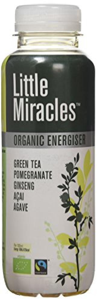 Little Miracles Pomegranate Acai Ginseng Agave Green Tea 330ml