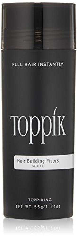 TOPPIK Hair Building Fibers White 55 g