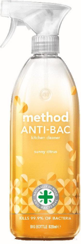 Method Sunny Citrus Anti-Bac Kitchen Cleaner 828 ml