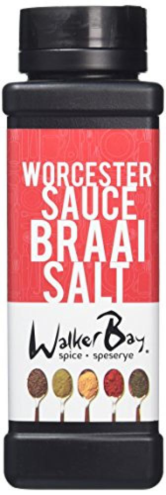 Walker Bay Worcester Sauce Braai Salt 300 g