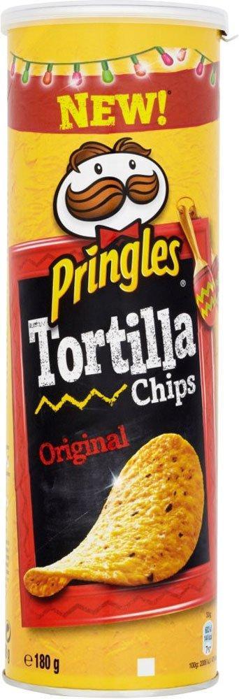 Pringles Tortilla Chips Original 180g