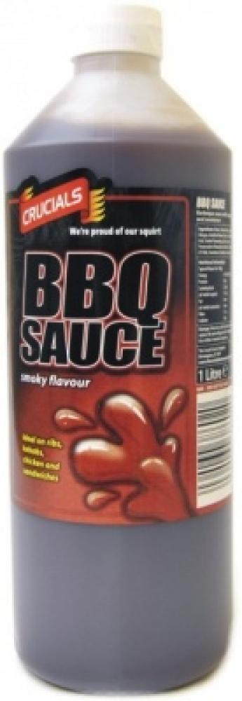 Crucials BBQ Sauce Smoky Flavour 1 Litre