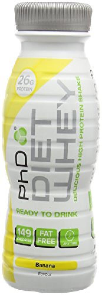 PhD Nutrition Diet Whey with High Protein MilkshakeBanana 330ml