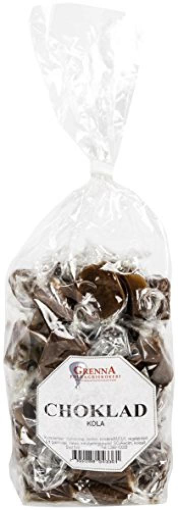 Grenna Polkagriskokeri Chocolate Toffees in Cellophane Bag 300 g