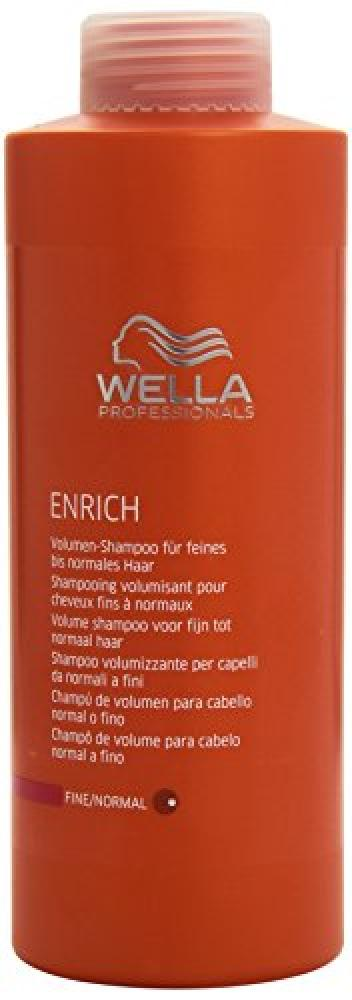 Wella Enrich Volumizing Shampoo 1000 ml