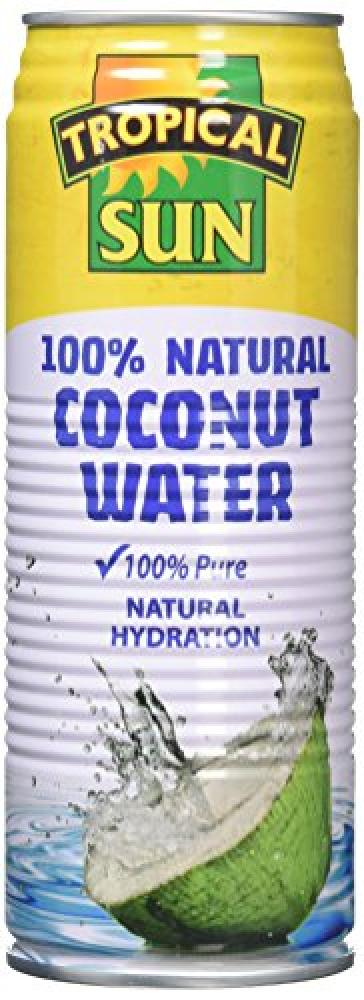 Tropical Sun 100 Percent Natural Coconut Water 520 ml