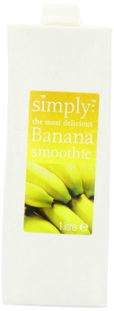 Simply Banana Smoothie 1Litre