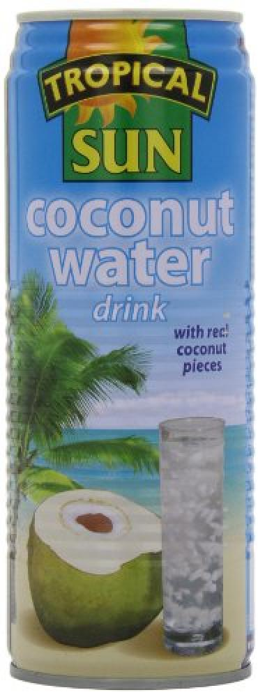 Tropical Sun Coconut Water Drink with Bits 520ml