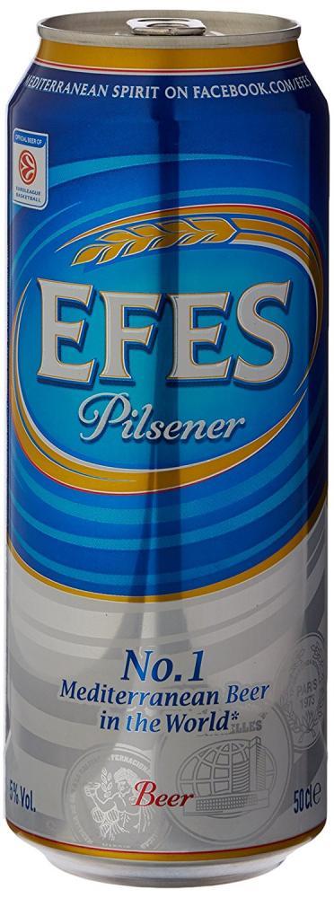 Efes Pilsner 500 ml