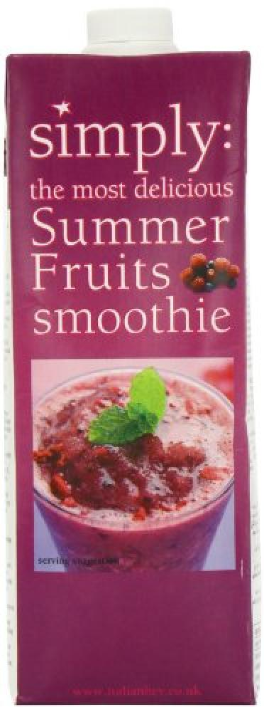 FURTHER REDUCTION  Simply Summer Fruits Smoothie 1 litre