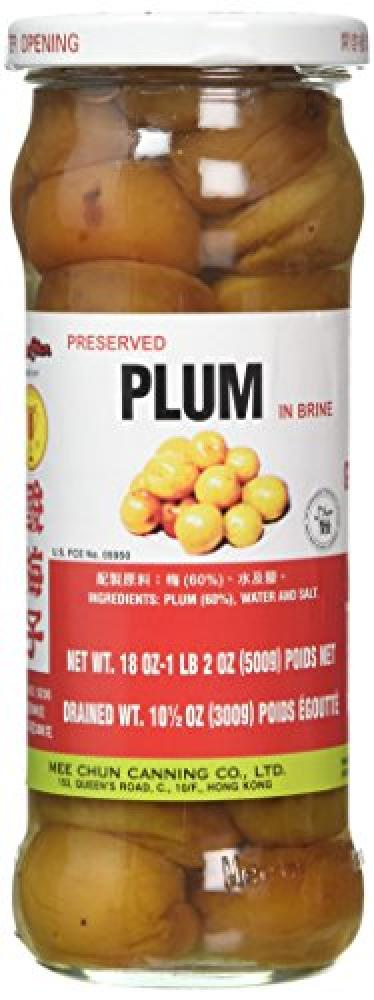 Mee Chun Canning Preserved Plum in Brine 500g