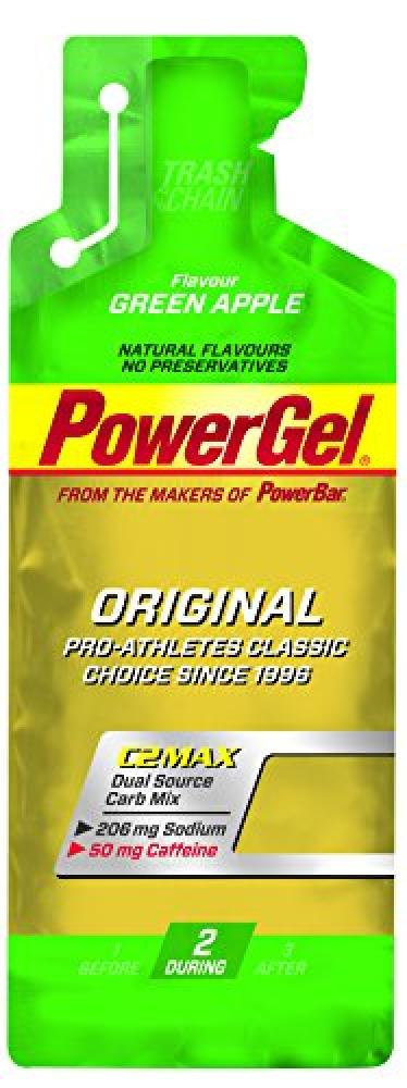 Power Bar Green and Caffeine Powergel (Flavour Green Apple) 41 g
