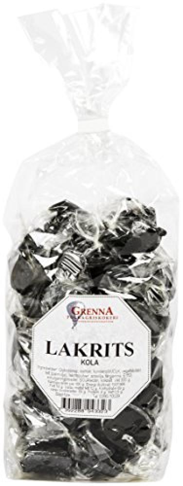 Grenna Polkagriskokeri Liquorice Toffees in Cellophane Bag 300 g