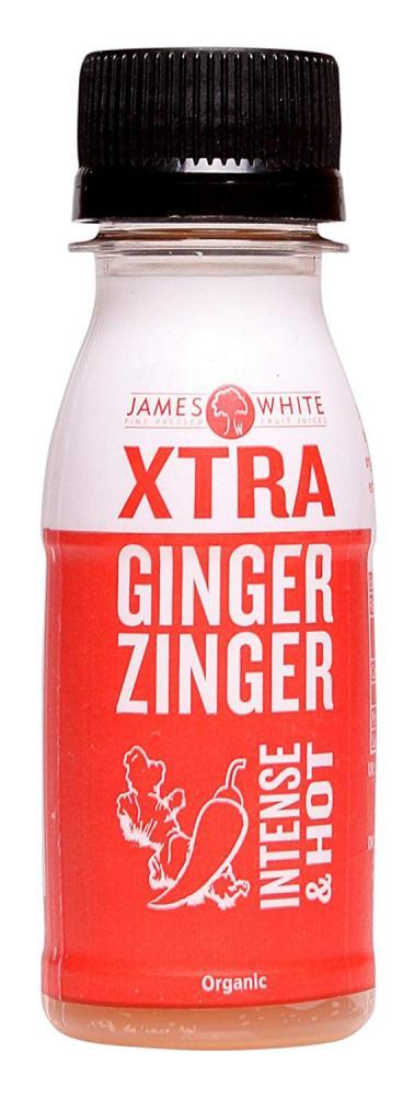 James White Xtra Ginger Zinger Intense and Hot Shot 70ml