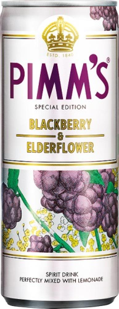 Pimms Pimms Blackberry and Elderflower 250ml