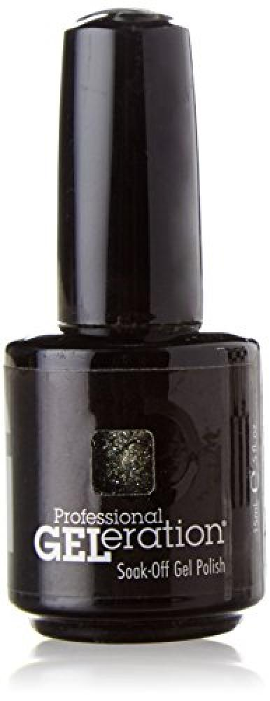 Jessica Geleration UV Gel Nail Polish Smoky Glitter | Approved Food