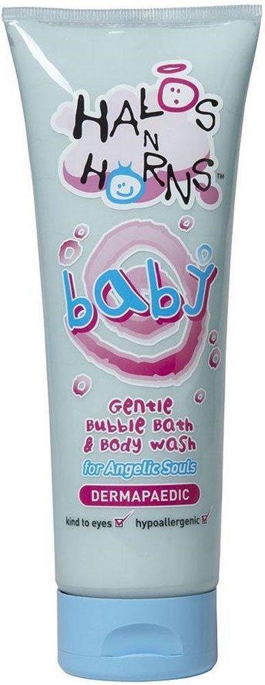 Halos n Horn Gentle Bubble Bath and Body Wash 250ml