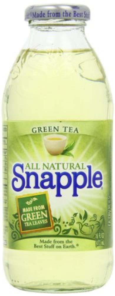 Snapple Green Tea Bottles 473 ml