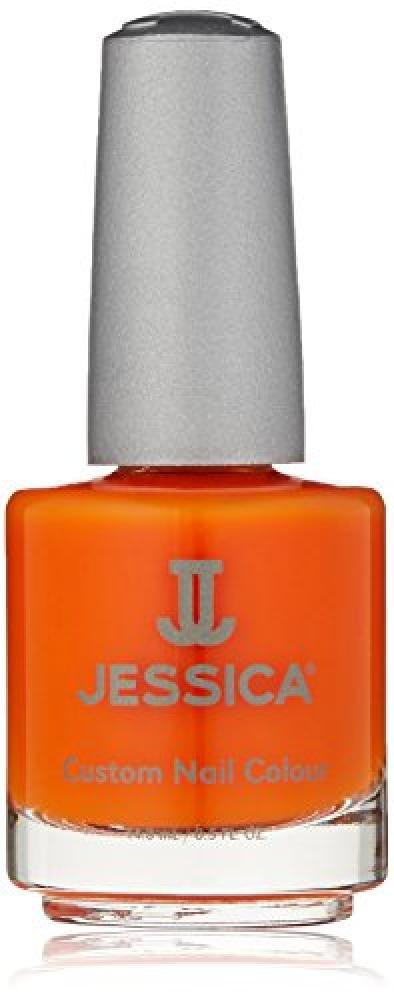 Jessica Geleration UVLED Gel PolishOrange ZestNeon 15ml