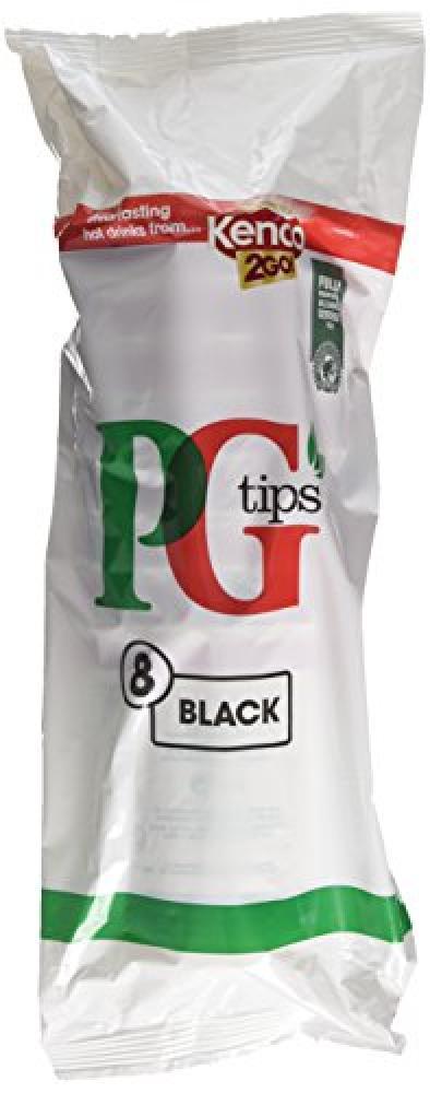 PG Tips Black 2go 8 Cups 8x2.5g
