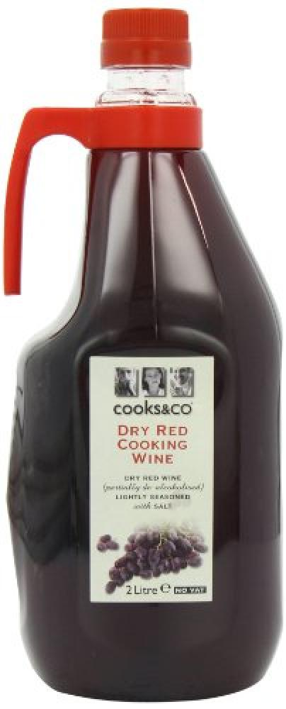 Cooks and Co Dry Red Cooking Wine 2Litre
