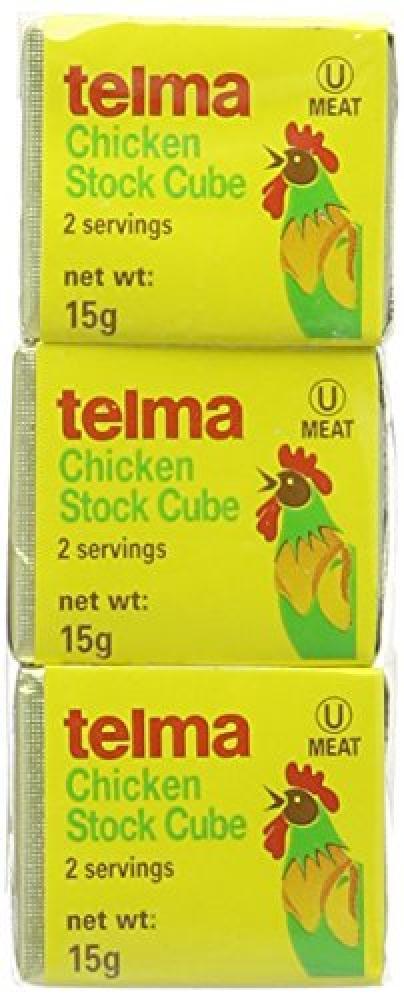 Telma Chicken Stock Cubes 45g