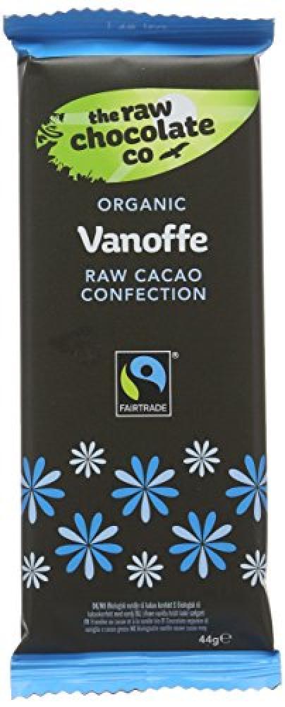The Raw Chocolate Co Vanoffe Chocolate Bar 44 g