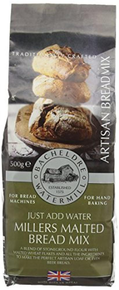 Bacheldre Watermill Millers Malted Bread Mix 500 g