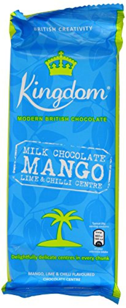 Kingdom Milk Chocolate with MangoLime and Chilli Bar 100 g