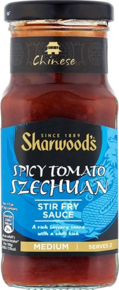 Sharwoods Spicy Tomato Szechuan Stir Fry Sauce 195g