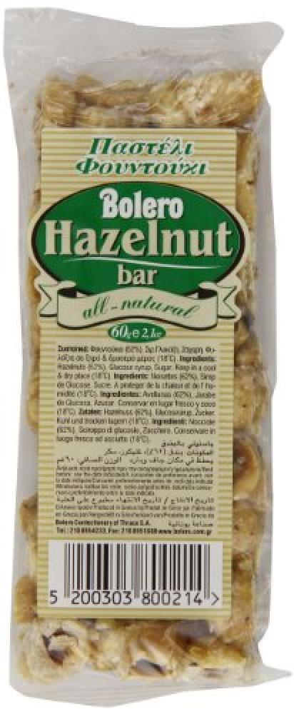 Bolero Hazelnut Bar 60 g
