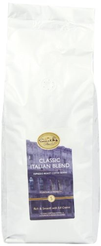 Smiths Coffee Co Classic Italian Esspresso Beans 1 kg