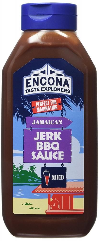 FURTHER REDUCTION  Encona Jamaican Jerk BBQ Sauce 1kg