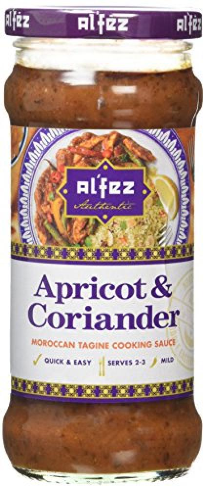 Alfez Apricot and Coriander Authentic Moroccan Tagine Sauce 350 g